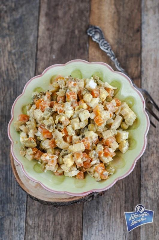 Przepis na sałatkę warzywną