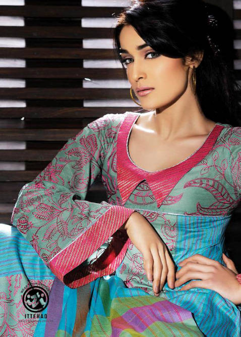 RangeenSummerCollectionByIttehad - Rangeen Summer Collection By Ittehad