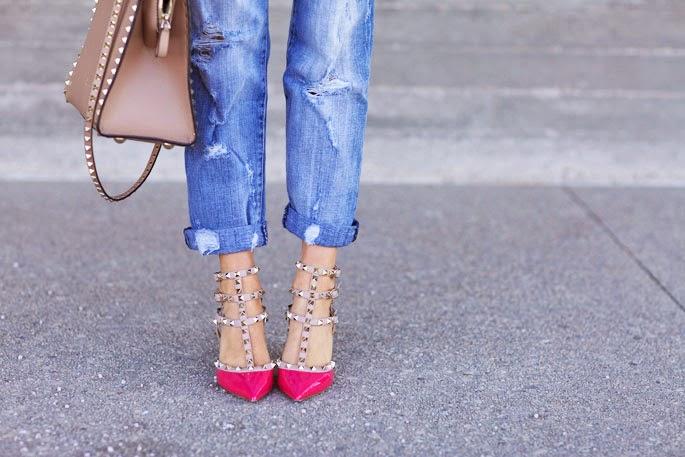 Fashion Cognoscente The Look For Less Valentino Rockstud