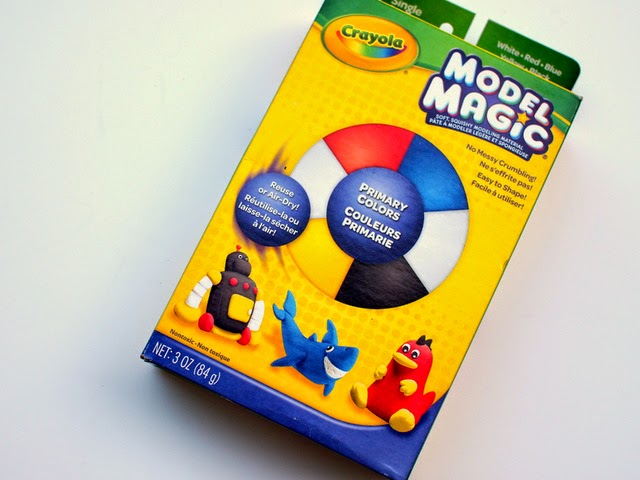 model magic used to make easy air dry ring bowls with kids