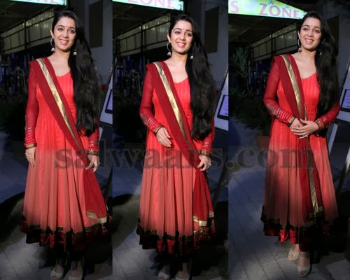 Charmi in Georgette Silk Salwar