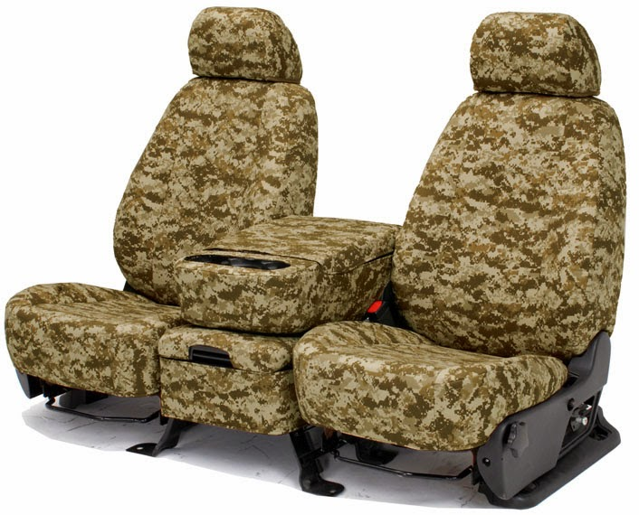 Camouflage Seat Covers image