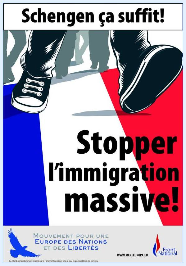 Pour stopper l'immigration massive