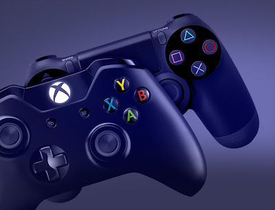 Xbox One and PlayStation 4 Controllers