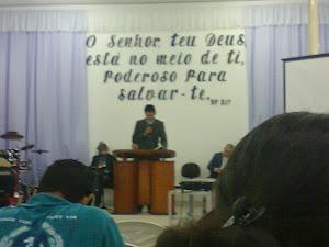 Igreja Congregacional no Bairro das Nações