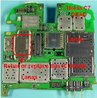 nokia c7 dead picture repair