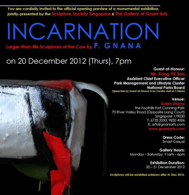 Incarnation Exhibition at Utama Galeri
