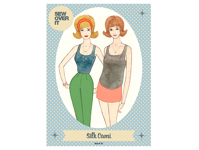 Sew over it silk cami