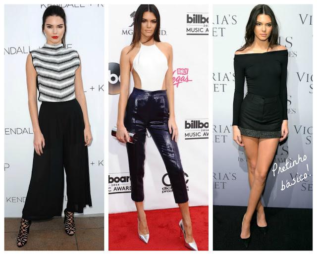 Kendall arrasando nas festas.