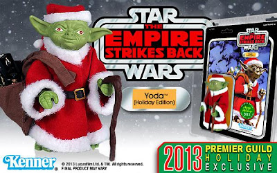 "Holiday Edition Yoda 6"" Jumbo Vintage Kenner Star Wars Action Figure by Gentle Giant"