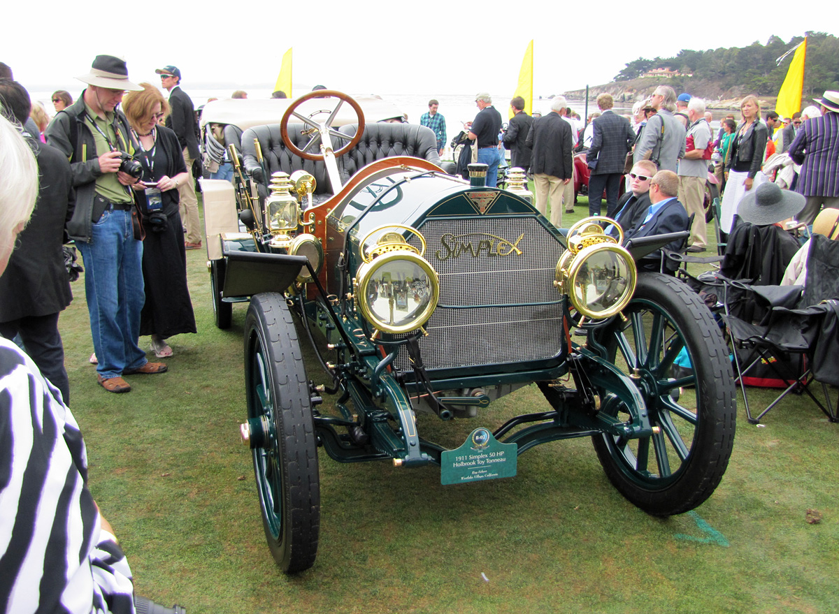 The Bell Curve of Life: 2013 Concours d\'Elegance: Class B - Simplex
