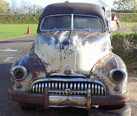 Front 1948 Buick Roadmaster Hearse
