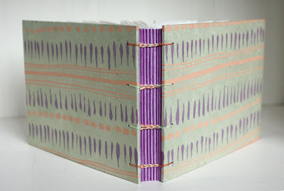 screenprinted handmade journal by Katie Gonzalez