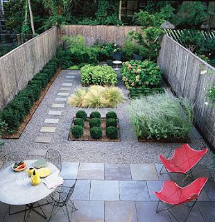 garden designs ideas for small gardens picture