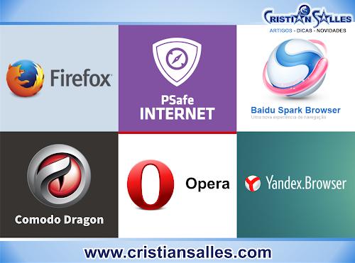 Confira 6 Navegadores alternativos ao Google Chrome e Internet Explorer
