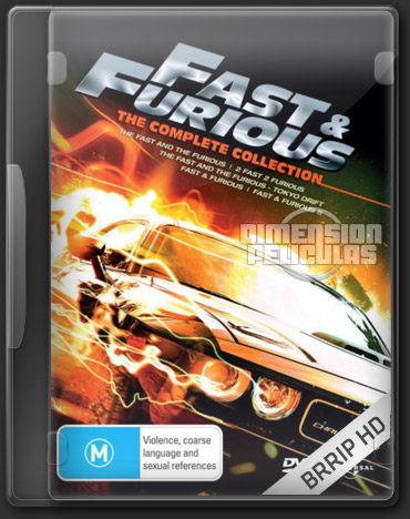 Fast and Furious 1-5 (BRRip HD Inglés Subtitulada)