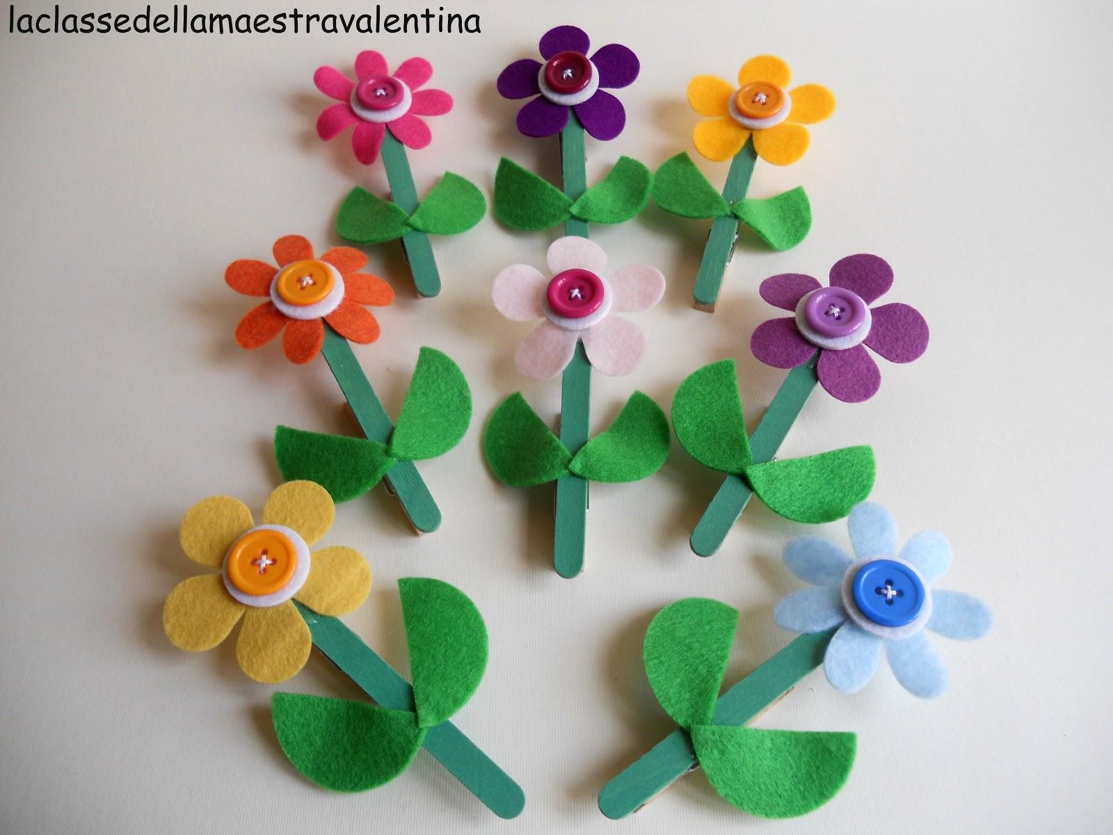 La classe della maestra valentina ancora fiori per la mamma for La maestra valentina