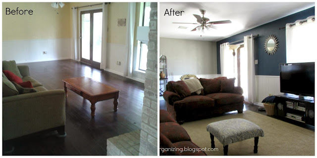 Behr Paint - Living Room Makeover
