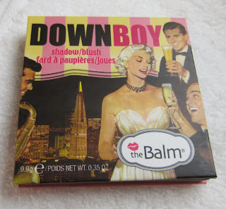 the balm down boy blush swatch review