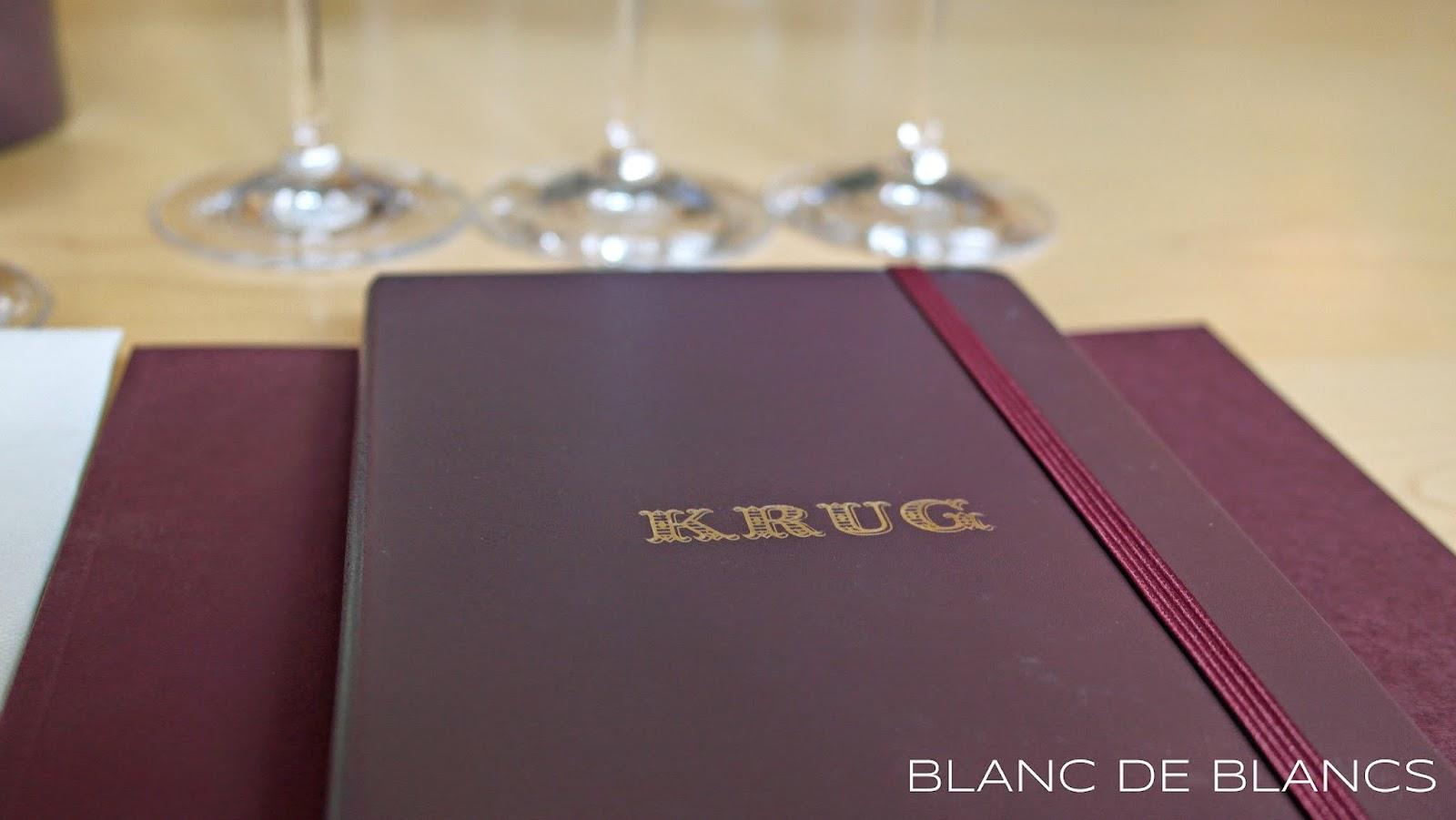 Vierailu Krugilla - www.blancdeblancs.fi
