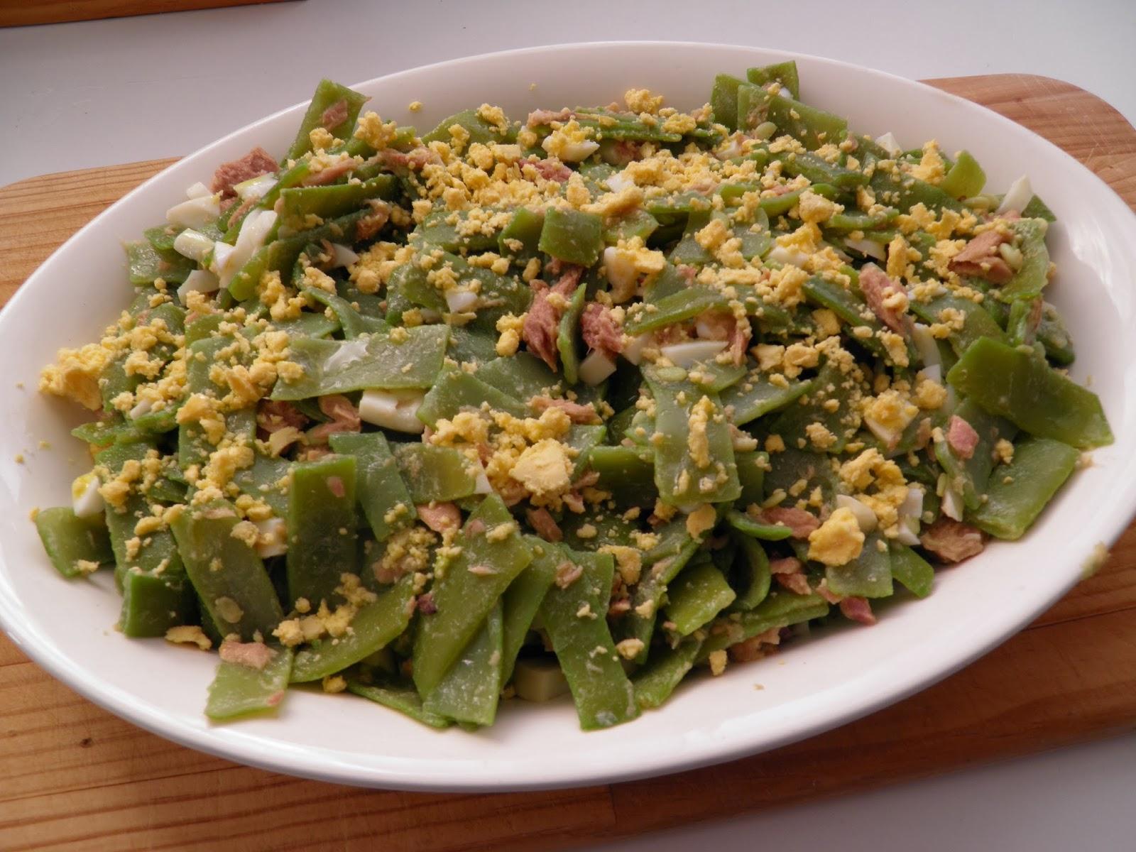 Las recetas de pepejo ensalada de jud as verdes con at n - Calorias de las judias verdes ...