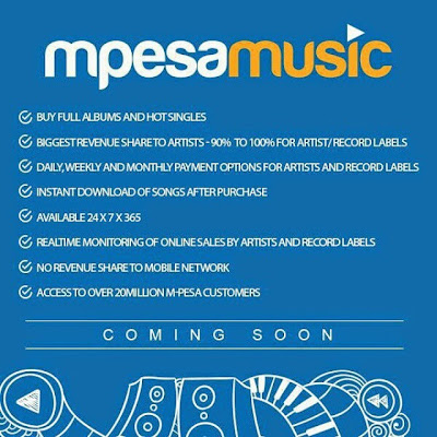 "Safaricom Come To The Rescue Of Local Musicians By Launching ""MpesaMusic"""