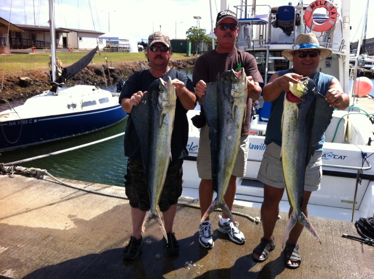 C lure fishing chaters kauai hawaii september 2012 for Kauai fishing report