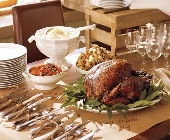 Marlaina teich designs table setting ideas for your for Table setting for thanksgiving dinner