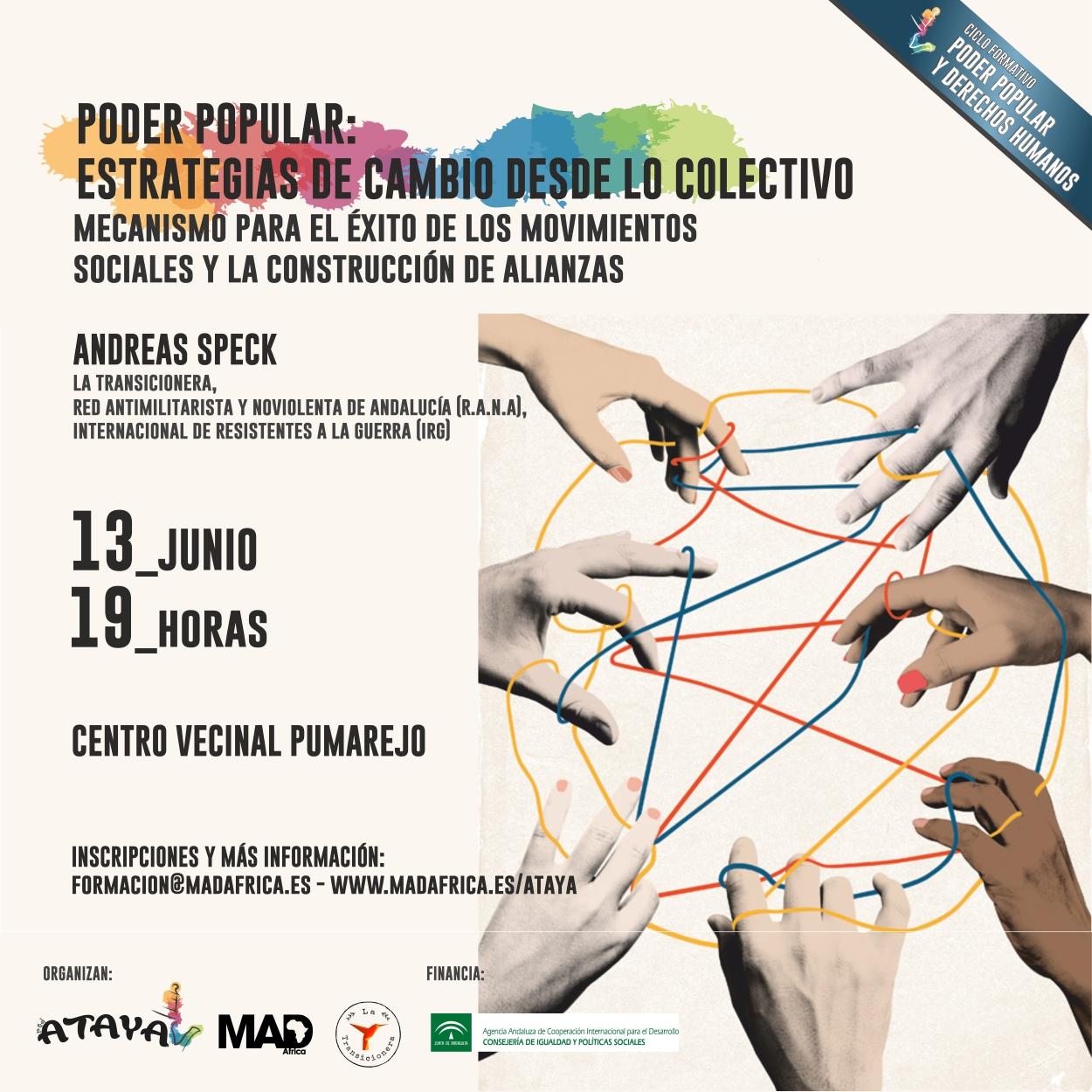 TALLER PODER POPULAR: ESTRATEGIAS DE CAMBIO DESDE LO COLECTIVO