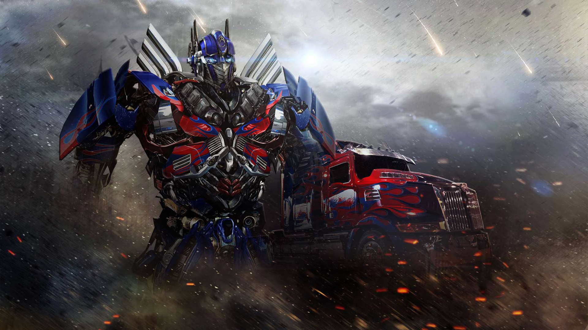 Optimus Prime Transformers 4 07 Wallpaper HD
