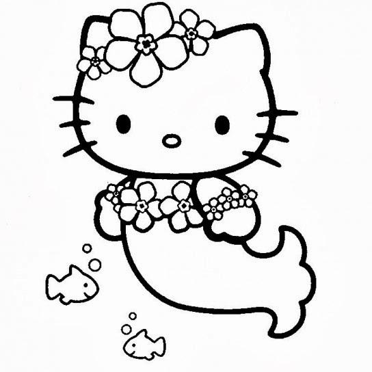 disegni da colorare e da stampare hello kitty