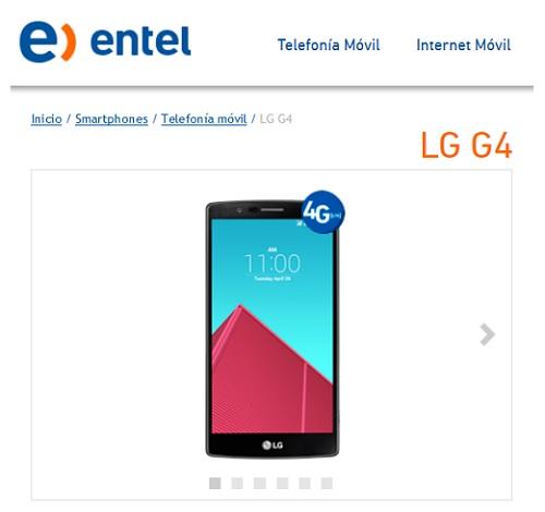 LG G4 ENTEL PERÚ