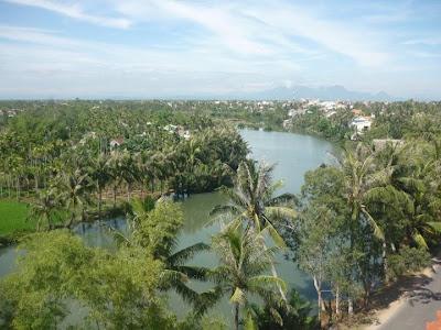 Cảnh đẹp của sông Thu Bồn