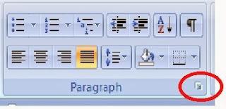 cara membuka dialog paragrap