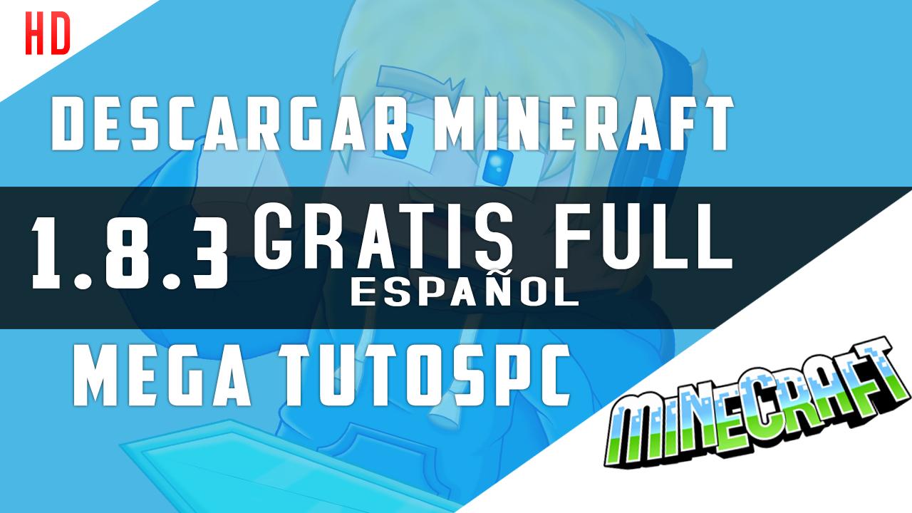 descargar minecraft gratis para pc en español completo windows 10