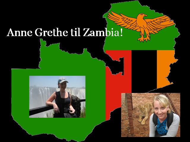 Anne Grethe til Afrika!