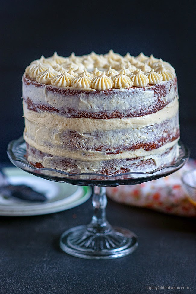 Caramel cream cheese frosting