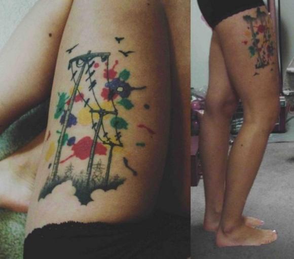 60 Amazing Foot Tattoos: Amazing Foot Tattoos