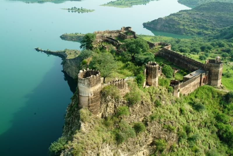 Mangla Dam, Mangla Lake and surrounding areas of Mirpur