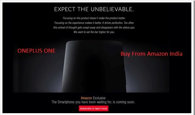 """oneplus one"" buy it from amazon india sale"