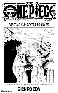 One Piece 818 Mangá Português leitura online
