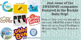 Bright Starts Bounce Bounce Baby! Giveaway.