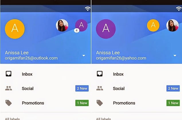 5.0,Android app,email provider,Gmail,Gmail 5.0 for Android,Gmail app,Gmail for Android,Google,mail app