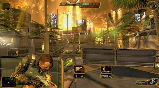 Gameplay Deus Ex: The Fall