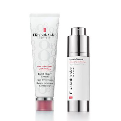 Jeu Elizabeth Arden: Baume Apaisant Réparateur Eight Hour Cream et le Sérum