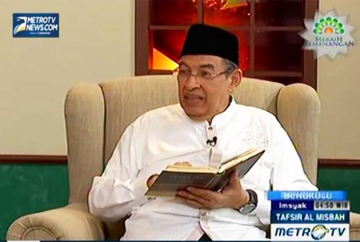 Hebat !!, Bpk Prof. Dr. Quraish Shihab Berani Menyatakan Bahwa Jilbab Tidak Wajib