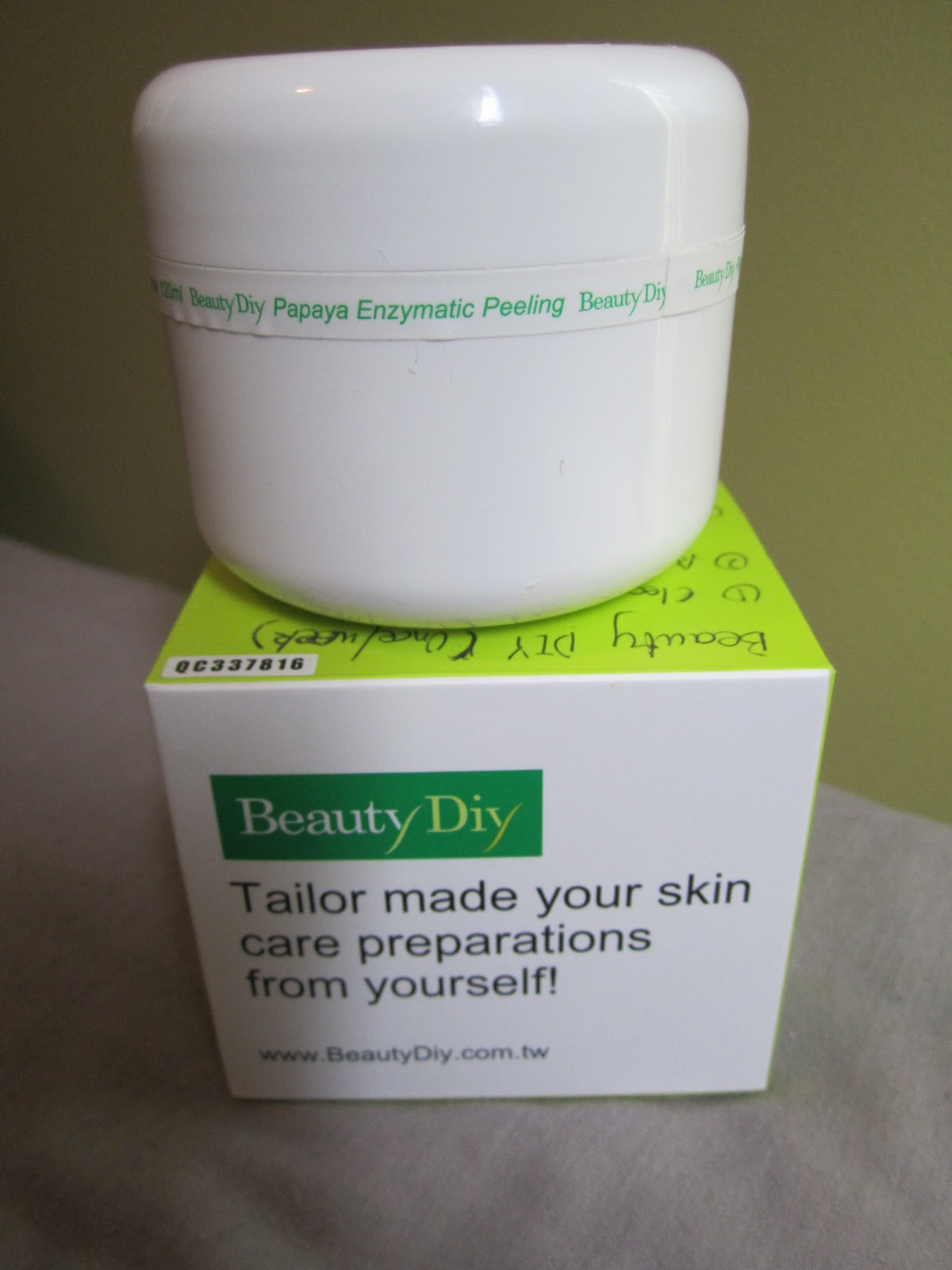 Beauty DIY Papaya Enzymatic Peeling Gel