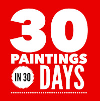 The 30 in 30 painting challenge September 2015
