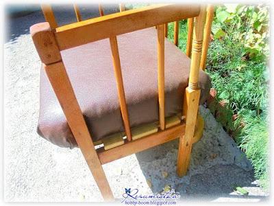 как сделать кресло для дачи