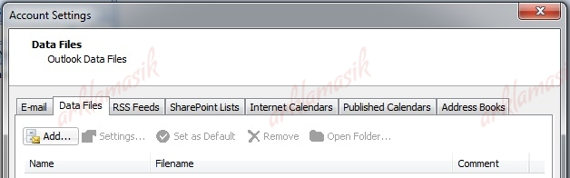 how to add archive folder in outlook 2007